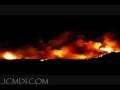 Time Lapse Fire in Santa Clarita (Sylmar Sayre Fire) Cat.#V03194, 720x480 Windows Media .WMV, 160 sec. at 30fps